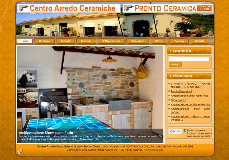 Centro arredo ceramiche nuovo sito internet online con for Centro arredo
