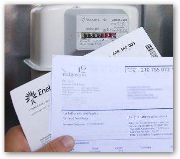 Attenzione ai falsi incaricati eni enel in giro per monte for Enel gas bolletta
