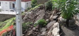 Frana a Monte di Procida via Salita Torregaveta resta chiusa Video Pacosmart