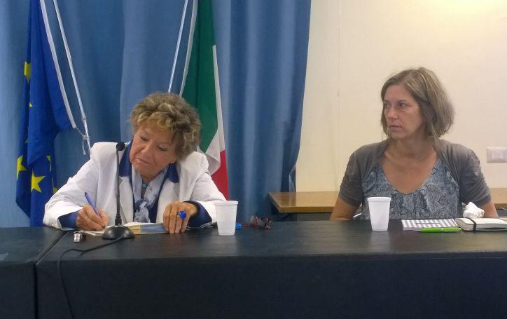 Dacia Maraini e Flavia Guardascione