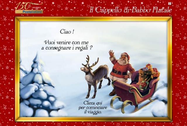 Letterina di natale del parco del benessere di monte di - Babbo natale porta i regali ai bambini ...