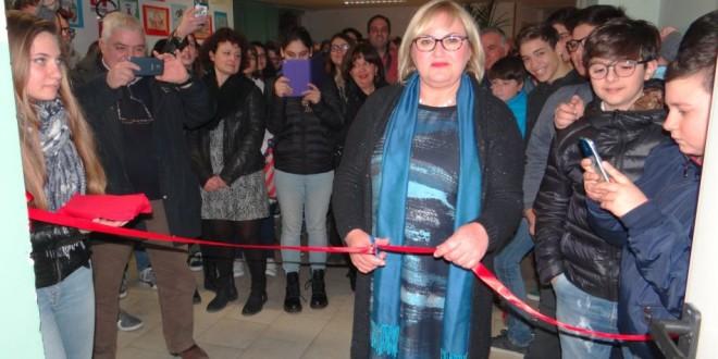 Inaugurata la nuova biblioteca dell'istituto Amerigo Vespucci. Video