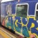 """Anche il nuovo treno della Cumana vandalizzato dai """"graffitari"""".  Le foto"""