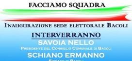 Inaugurazione a Bacoli della sede di FRATELLI D'ITALIA in via Risorgimento