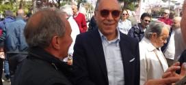 Franco Iannuzzi a Bacoli presenta la sua candidatura al Consiglio Regionale. Video