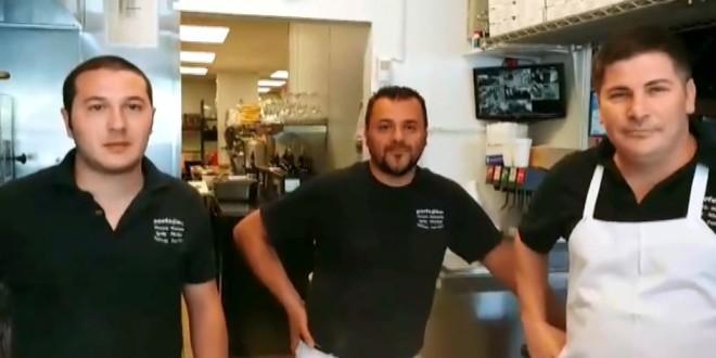Montesi in Usa. PORTOFINO's Restaurant Charlotte North Carolina. Video