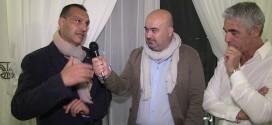 Biagio Izzo a Bacoli per chiusura della campagna elettorale di Ermanno Schiano. Video Intervista