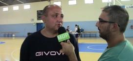 Il Napoli Basket si allena a Monte di Procida. Le interviste al Pala Pippo Coppola. Video