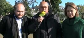S. O.S. ANTENNE, Raccolta firme a Bacoli. Intervista a Anna Illiano SEL e Michele Amirante PD. Video