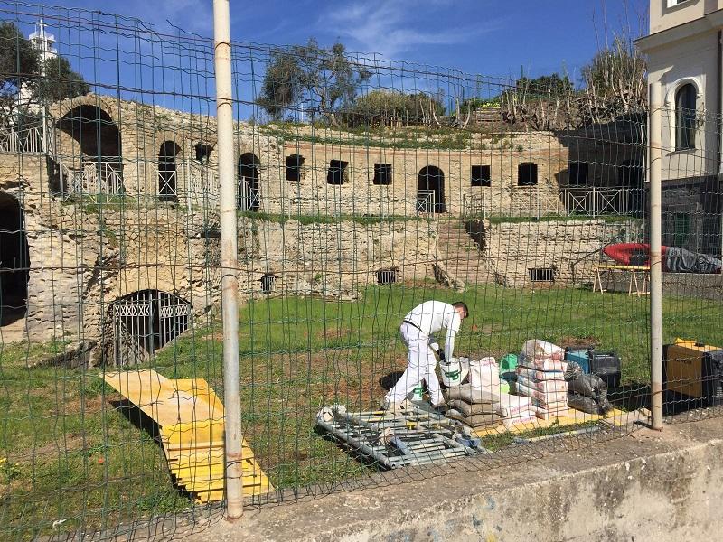 Partiti i lavori di manutenzione straordinaria alla tomba for Lavori di manutenzione straordinaria