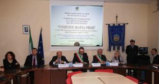 """Sabato 7 Maggio alla Sala Ostrichina la consegna del premio """"MAFIA FREE"""" al Comune di Bacoli"""