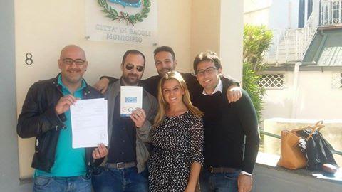 """Nasce un gruppo indipendente denominato """"Bacoli Libera""""."""