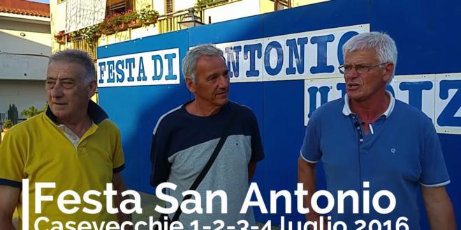 Casevecchie, dall'1 al 4 luglio la festa in onore di Sant'Antonio. Video