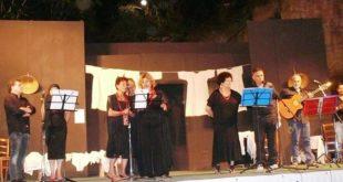"""Successo delle  """"Voci Flegree"""" ai Giardini di Dedalo  reading-musicale a cura della Scintilla"""