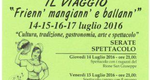 Festa del rione San Giuseppe dal 14 al 17 luglio a Monte di Procida.