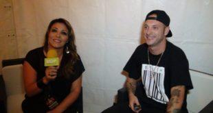 Intervista al rapper Clementino per il grande show di Monte di Procida. Video