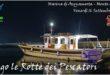 La Rai a Monte di Procida per Malazè con la motobarca Circe. Video