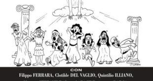 """Compagnia della FRATTA, ancora una replica per """"La Divina Iastemma"""""""