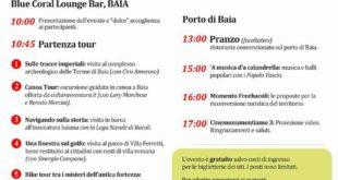 Domenica 30 Ottobre a Baia c'è MonumenTIAMO, la 3° edizione: un'iniziativa targata Freebacoli