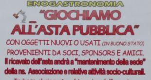 """L'incontro al borgo presenta """"Giochiamo all'asta pubblica"""""""