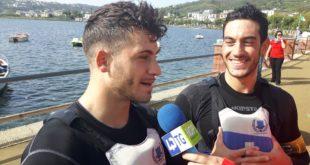 Lago Miseno. Intervista a Costagliola e Massa del  Canoa Polo club Napoli. Video
