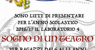 """Fondazione Tonino Schiano. Sono aperte le iscrizioni per il laboratorio teatrale """" Sogno di un Teatro"""""""