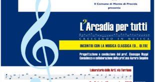 Sabato 21 torna l'Arcadia per tutti