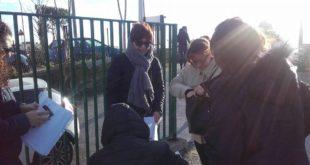 Battaglia contro la chiusura della scuola dello Scalandrone. Monica Carannante