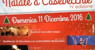 NATALE A CASEVECCHIE IV edizione DOMENICA 11 dicembre dalle 15.30 Piazza S. Antonio.