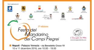 """""""Festa del Mandarino dei Campi Flegrei"""" a Bacoli 14/15 gennaio e a Monte di Procida 28 gen.  Villa Matarese"""