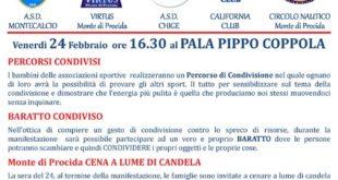 """""""M'Illumino di Meno 24/2/2017 alle ore 16.30 al Pala Pippo Coppola con L'Associazione Musa"""