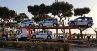 Bacoli, arrivano 4 nuove auto per la polizia municipale e un furgone per la segnaletica
