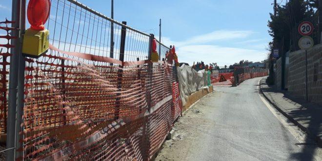 Salita Torregaveta.Manifestazione pubblica dei commercianti montesi martedì 2 maggio.