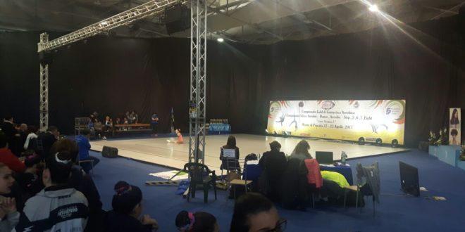 CAMPIONATO INTERREGIONALE DI AEROBICA, interviste al sindaco Pugliese, Tina Schiano e all'organizzatore Giorgio Illiano del CHIGE