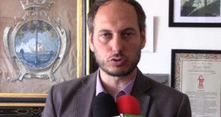 Apertura di via Salita Torregaveta a senso unico parla il sindaco Pugliese.Video