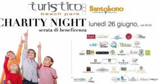 Charity Night al Turistico beach park per il Santobono. Lunedì 26 giugno ore 20.30