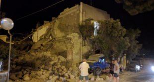 Terremoto ad Ischia, crollata abitazione e muri perimetrali. Foto e video