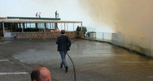 Il sindaco Pugliese chiede alla Regione più forze contro gli incendi. Video con immagini esclusive
