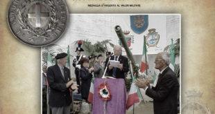 Il sottotenente Michele Ruoppo, medaglia d'argento al valor militare