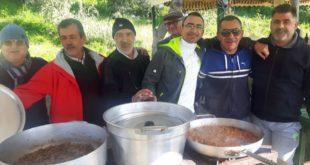 Pranzo di Chiusura delle Feste per gli AMICI DEL GOZZO. Acquamorta. Video
