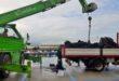 Quintali di rifiuti da pesca recuperati nella darsena di Acquamorta. Video e Foto