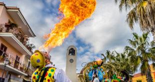 Carnevale 2018, pioggia di colori e divertimento per le strade di Monte di Procida