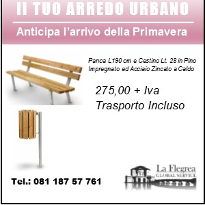 Vendita Arredo Urbano.
