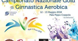 Campionato nazionale gold di ginnastica aerobica, sabato e domenica al pala Pippo Cippola