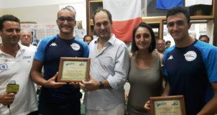 Michele Pugliese e Vincenzo Lucci premiati a Monte di Procida.Video