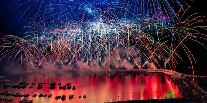 Fuochi d'artificio 2018 – Monte di Procida – Fireworks Display Vinspin Video