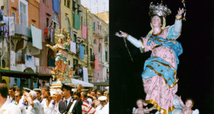 20 anni fa la storica processione dell'Assunta a Procida, 18 agosto 1998