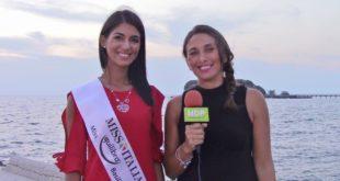 Carmela Biondi una montese alle fasi finali di Miss Italia: Video e Foto
