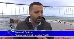 Iniziati il lavori al PONTILE DI TORREGAVETA. Intervista a Fabrizio Viola Video