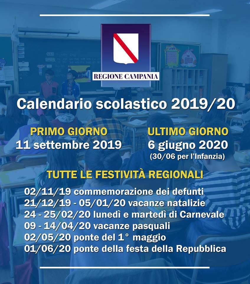 Calendario Scuole.Scuole Approvato Il Calendario Scolastico 2019 2020 Si